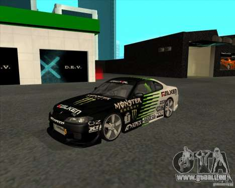 Nissan Silvia S15 Tunable pour GTA San Andreas vue arrière