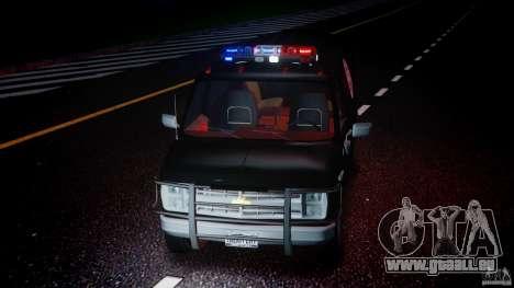 Chevrolet G20 Police Van [ELS] pour GTA 4 est un côté