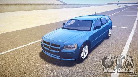 Dodge Magnum RT 2008 für GTA 4 Rückansicht