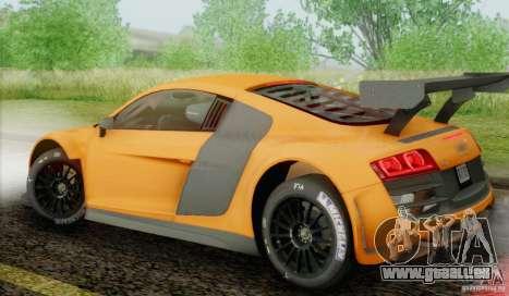 Audi R8 LMS GT3 für GTA San Andreas linke Ansicht