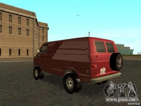 Dodge Tradesman 7z für GTA San Andreas linke Ansicht