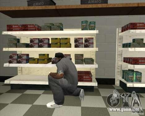 New Ammunation für GTA San Andreas zweiten Screenshot