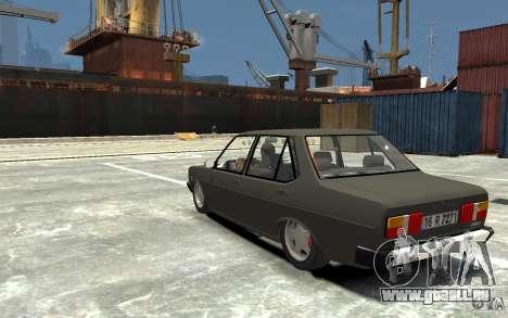 Tofas 131 Sahin pour GTA 4 Vue arrière de la gauche