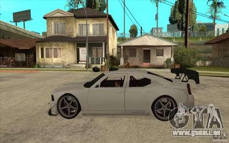 Dodge Charger 2009 pour GTA San Andreas laissé vue