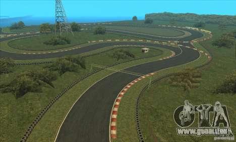 Piste GOKART Route 2 pour GTA San Andreas