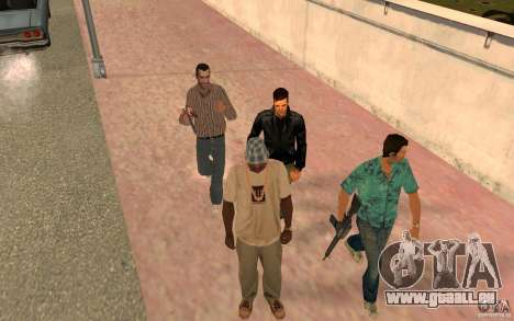 Brigade VERSION 2.0 pour GTA San Andreas