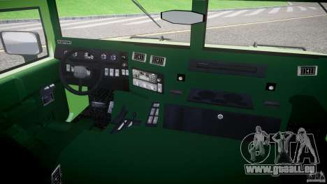 Hummer H1 pour GTA 4 Vue arrière