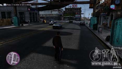 VC Style Radar/HUD (Haut 3) für GTA 4 dritte Screenshot