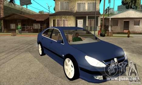 Peugeot 607 für GTA San Andreas Rückansicht
