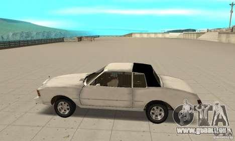 Chevrolet Monte Carlo 1976 pour GTA San Andreas laissé vue