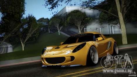 Lotus Exige Track Car pour GTA San Andreas vue intérieure
