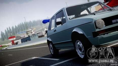 Volkswagen Golf Mk1 pour le moteur de GTA 4