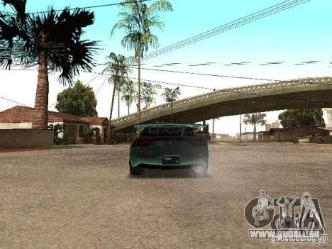 Mazda RX-7 Pro Street pour GTA San Andreas sur la vue arrière gauche