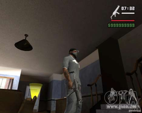Mp5HD pour GTA San Andreas troisième écran