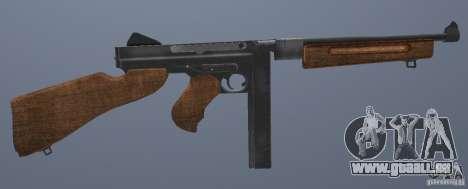 M1 Thompson für GTA San Andreas her Screenshot