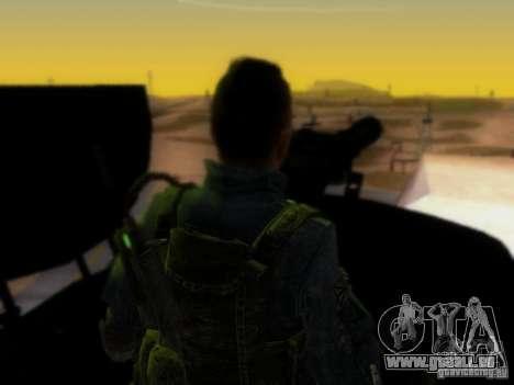 Suv Call Of Duty Modern Warfare 3 für GTA San Andreas Innen