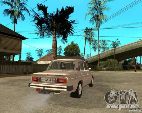 VAZ 21065 für GTA San Andreas zurück linke Ansicht