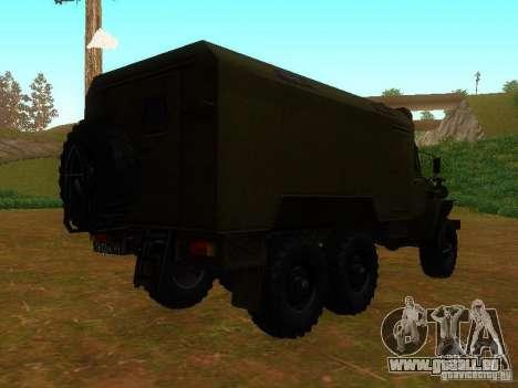 Ural 4320 Kung für GTA San Andreas rechten Ansicht