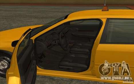 Chevrolet Impala Taxi 2003 für GTA San Andreas zurück linke Ansicht