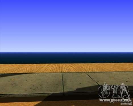 Cadre magnifique ENBSeries pour GTA San Andreas neuvième écran