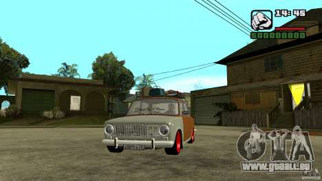 Lada 2101 OnlyDropped pour GTA San Andreas