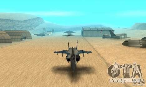 MiG-31 Foxhound für GTA San Andreas Seitenansicht