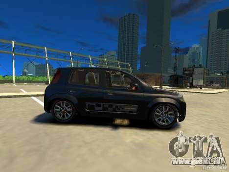 Fiat Novo Uno Sporting pour GTA 4 est une gauche