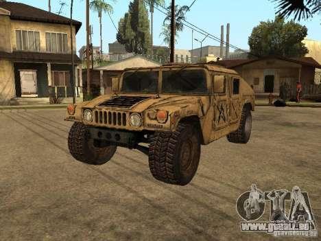 War Hummer H1 pour GTA San Andreas
