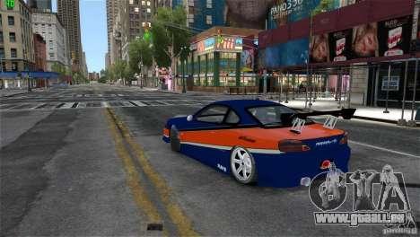 Nissan Silvia S15 Tokyo Drift pour GTA 4 est une gauche