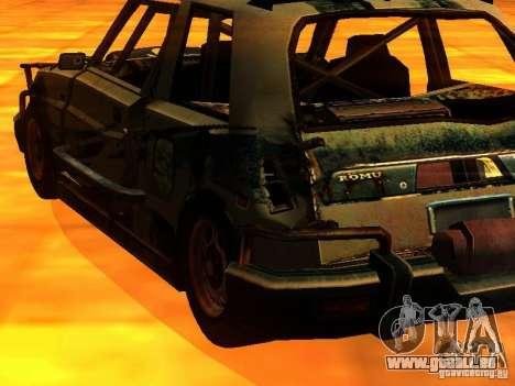 CHILI from FlatOut 2 pour GTA San Andreas laissé vue