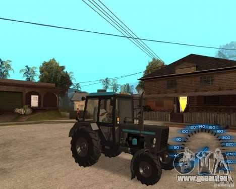 Tracteur MTZ-80 pour GTA San Andreas laissé vue