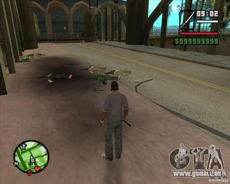 Chidory Mod pour GTA San Andreas troisième écran