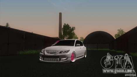 Mazda MazdaSpeed 3 pour GTA San Andreas