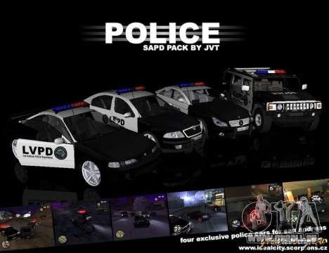 GTA San Andreas SAPD POLICE PACK pour GTA San Andreas
