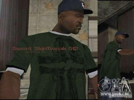 Reteksturizaciâ caractères pour GTA San Andreas troisième écran