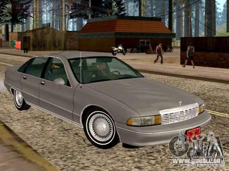 Chevrolet Caprice 1991 pour GTA San Andreas