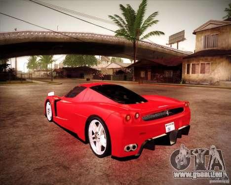 Ferrari Enzo für GTA San Andreas linke Ansicht