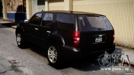 Chevrolet Tahoe 2007 für GTA 4 hinten links Ansicht