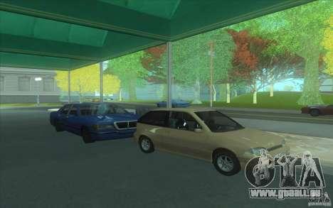 Suzuki Swift GLX 1.3 pour GTA San Andreas laissé vue