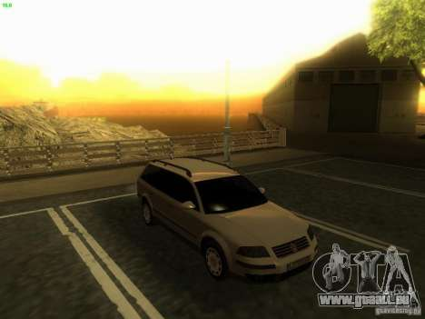 Vw Passat B5.5 Wagon 1.9 TDi für GTA San Andreas rechten Ansicht