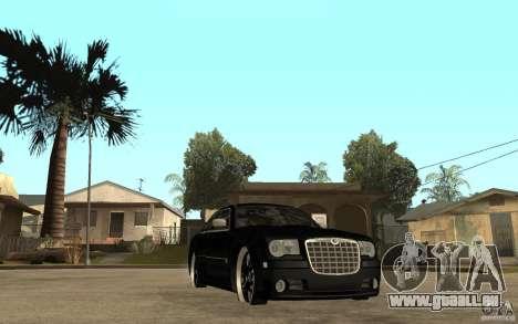 Chrysler 300C DUB pour GTA San Andreas vue arrière