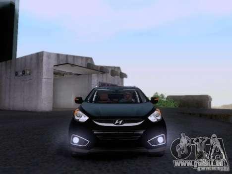 Hyundai ix35 für GTA San Andreas Innenansicht