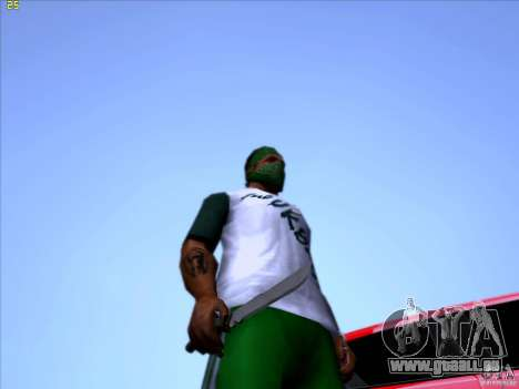 Machete from Far Cry 3 für GTA San Andreas