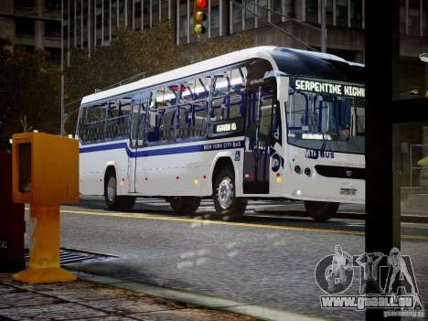 Scania K230 MTA New York City Bus für GTA 4 rechte Ansicht