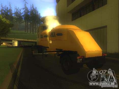 Mukovoz K4-AMG-trailer für GTA San Andreas zurück linke Ansicht