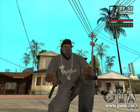 Millenias Weapon Pack für GTA San Andreas her Screenshot