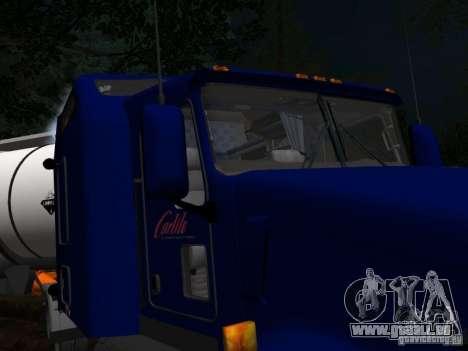 Kenwort T800 Carlile für GTA San Andreas Innen