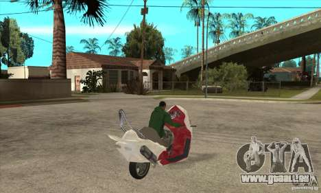Honda Forza pour GTA San Andreas vue de droite