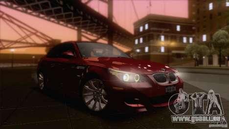 BMW M5 2009 pour GTA San Andreas