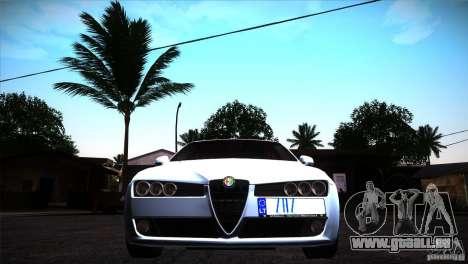 Alfa Romeo 159 Ti pour GTA San Andreas vue intérieure
